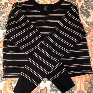 3 for $15 Forever 21 Striped Sweatshirt